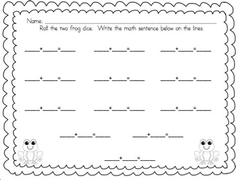 My Froggy Stuff Printables