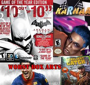 The Top 5 Worst Video Game Box Art