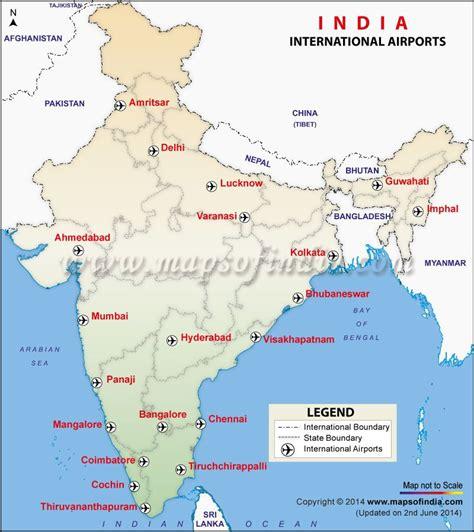 international airports map  india mumbaidelhi
