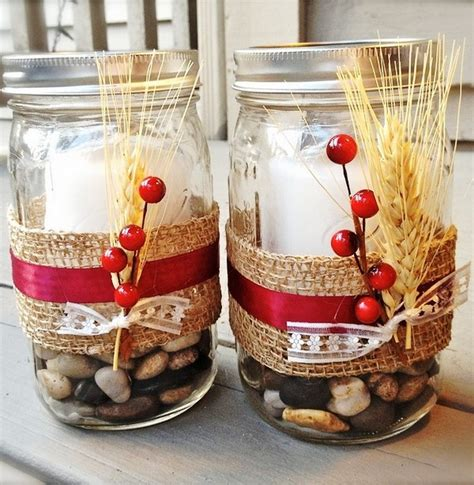 jar christmas candle holder creative ideas for glass jars recycled things
