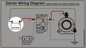 Electric Starter - Wiring Diagram Issues