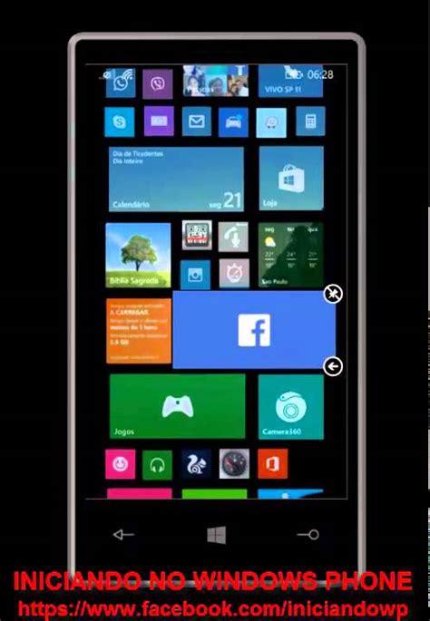 Tiles Transparentes no Windows Phone 8.1 - YouTube