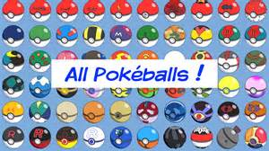 pokemon all pokeballs