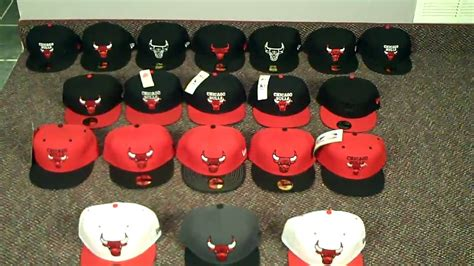 chicago bulls  era fitted hat collection www