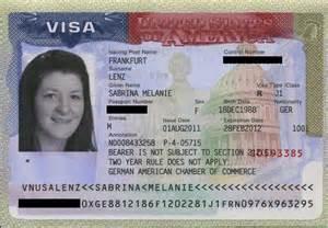 What Is U.S. Visa Number On Visa