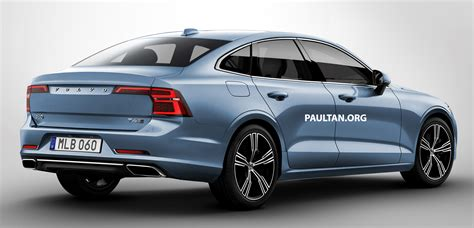 New Volvo S60 by New Volvo S60 Sedan Rendered Based On V60 Wagon Paul