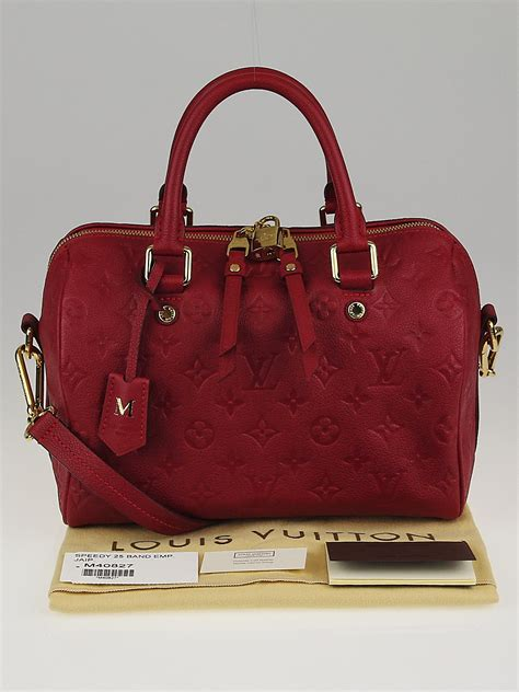 louis vuitton jaipur monogram empreinte leather speedy
