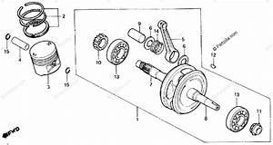 Honda Atv 1987 Oem Parts Diagram For Crankshaft