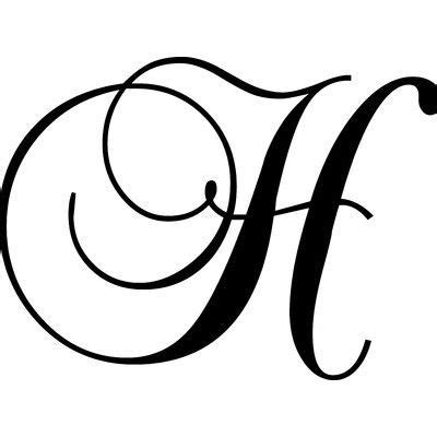 enchantingly elegant letter  wall decal size         lettering  tattoo