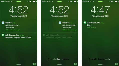 how to see notifications on iphone how to use lock screen today popups and banners in