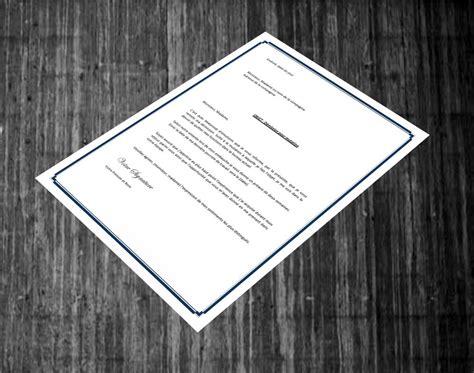 modele lettre demission suivi conjoint lettre de demission pour mutation contrat de travail 2018