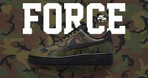 Nike Air Force 1 Camo Reflective Green