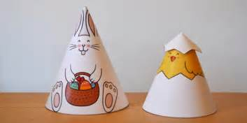 cone template twinkl easter cone animals easter animals crafts art design