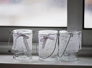 Gläser Verzieren Basteln : windlicht selber machen ideen f r teelichthalter aus ~ Lizthompson.info Haus und Dekorationen