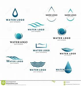 A Collection Of Logos For Water And Plumbing. Water ...