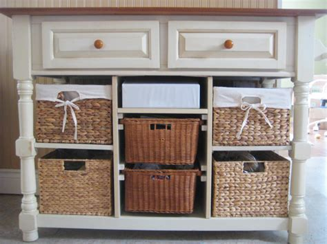 kitchen island with baskets the inherited island conundrum and the lesson that not 5199