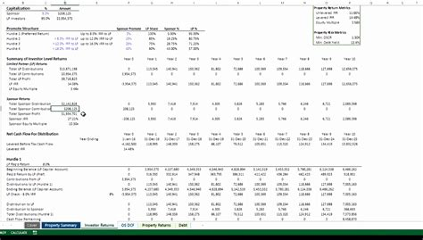 irr calculator excel template exceltemplates