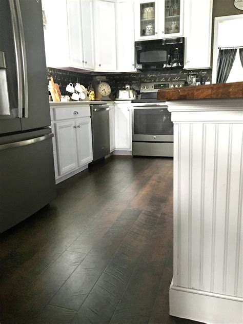 Pergo Flooring Our Kitchen Reveal!!  Snazzy Little Things