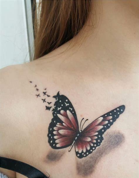 signification tatouage fleur de lotus  papillon