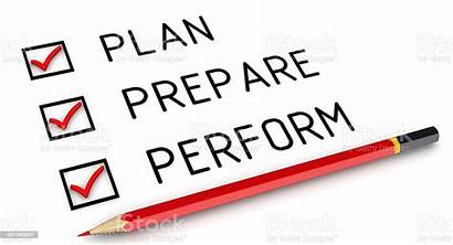 Prepare Plan Clipart Perform Preparation Planning Performance