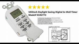 Utilitech Daylight Saving Digital In