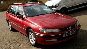 Peugeot 406 2 0 Hdi Glx 90 Estate 2000 V Reg Met Red