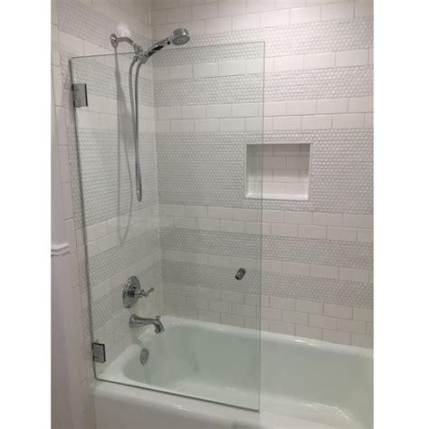 Bath Tub Shower Doors by Shower Bathtub Doors You Ll Wayfair