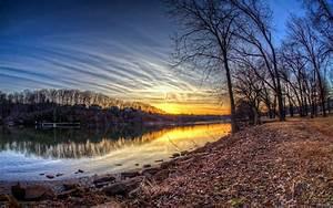 Beautiful autumn sunset HD Desktop Wallpaper | HD Desktop ...