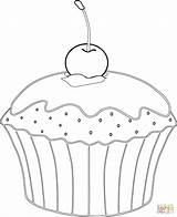 Muffin Coloring Cupcakes Cupcake Kirsche Ausmalbilder Muffins Colorare Babeczka Kolorowanka Colorear Disegni Ausmalbild Dibujos Magdalena Riscos Google Kleurplaten Supercoloring Zum sketch template