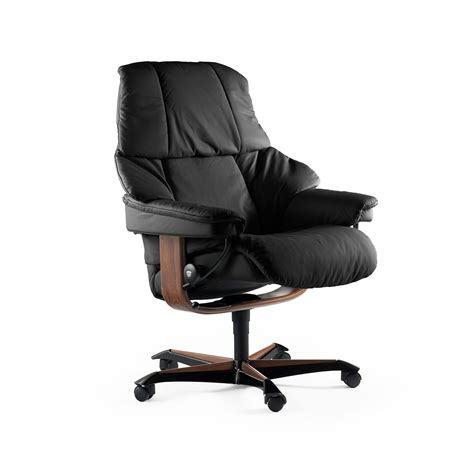 fauteuil de bureau stressless stressless sessel reno home office m black