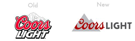 Coors Light Font by Top 15 Logo Changes From 2015
