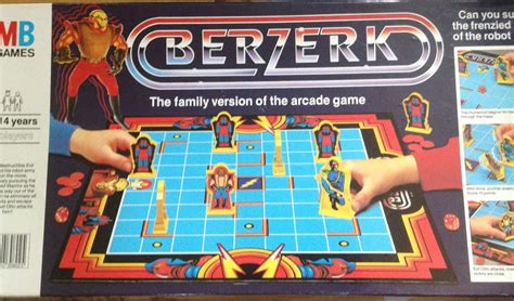 mb giochi da tavolo berzerk gioco da tavolo mb giochi