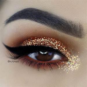 Best 25+ Gold eye makeup ideas on Pinterest | Smoky eye ...