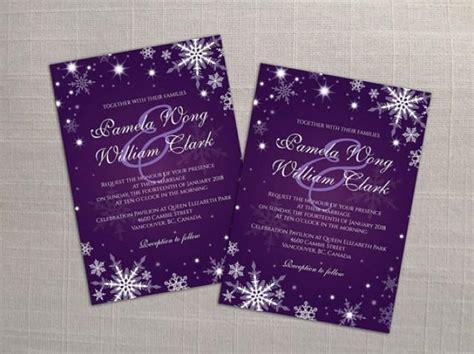 DIY Printable Wedding Invitation Card Template #2358425