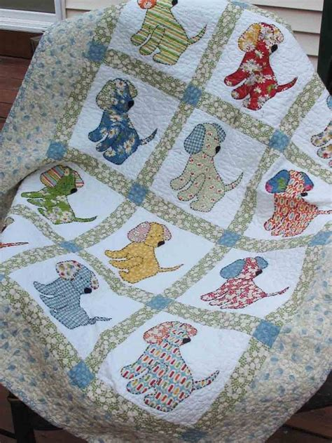 quilting applique patterns vintage quilt patterns puppy quilt pattern