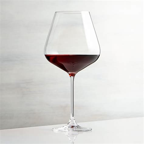 Hip Large Red Wine Glass + Reviews | Crate and Barrel