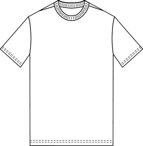 T Shirt Blank Template by The Sketchpad Blank T Shirt Template
