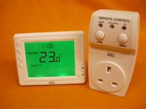 Celect Wireless Rf 433mhz Large Screen Vf Room Thermostat