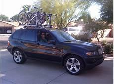 X5 with roof mounted bike racks Xoutpostcom