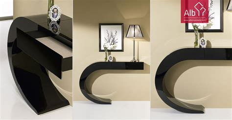 contemporary hall furniture console table lamp tables
