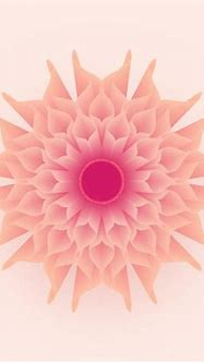 3D Abstract Geometric Soft Pastel Flower Vector 215958 ...