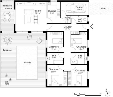 chambre meubl馥 dijon plan de maison avec piscine intrieure gallery of maison avec piscine interieure photos de maison moderne avec with plan de maison avec