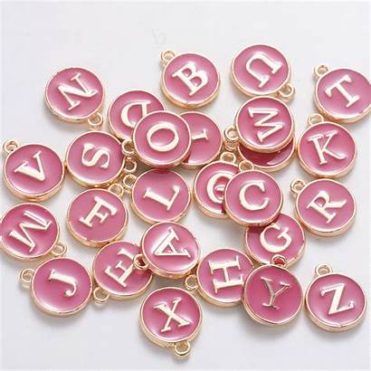 Charms Alphabet Jewelry Alloy Letter Ncaa Snap