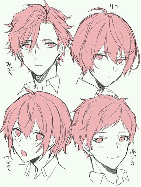 hair short boy hair   draw hair anime hair guy