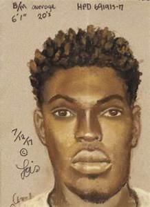 Police release sketch of suspect wanted in shooting of ...
