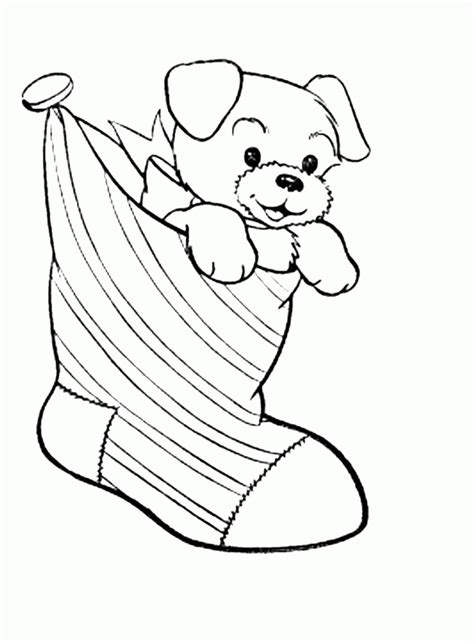 Print & Download Draw Your Own Puppy Coloring Pages