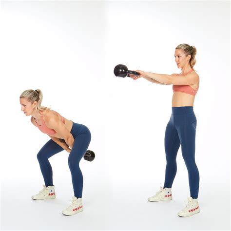 workout kettlebell swing shape workouts only routine fitness