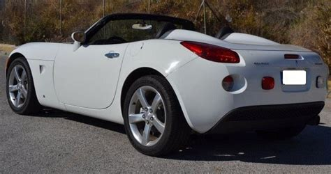 two seater convertible sports cars 2006 pontiac solstice 2 4 cabriolet 2 seater convertible