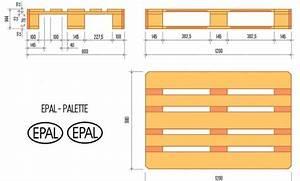 Bett 1 X 2 M : paletten ma e gewichte arten tipps zur lagerung ~ Bigdaddyawards.com Haus und Dekorationen