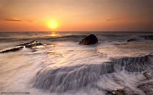 Download wallpaper Cyprus, evening, sun, orange free ...